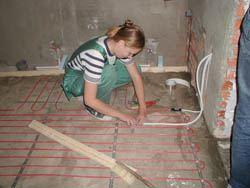 Монтаж электрического теплого пола в Улан-Удэ. электрический теплый пол