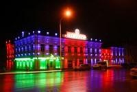 Наружное освещение: архитектурное освещение зданий и фасадов в г.Улан-Удэ